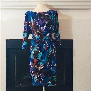 Maggy London Sheath Dress Sz 14